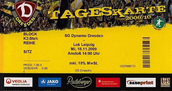 Tickets Dynamo Dresden